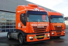 Wetron Weert aan de slag met zes Iveco's