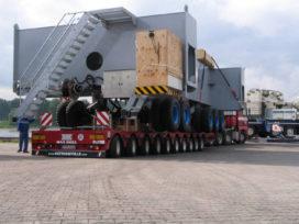 10-assige Multimax van Faymonville laadt 93,5 ton