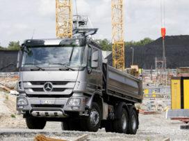 Het nieuwe Mercedes-Benz Actros bouwprogramma