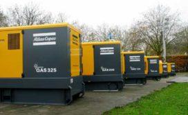 Atlas Copco showt nieuwe compressoren en generatoren