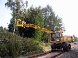 Controle op veilig onderhoudswerk aan spoor