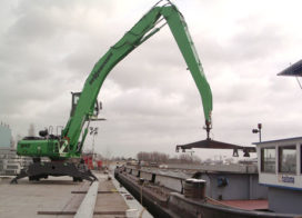 Ballast Nedam huurt Sennebogen 840 Green Line