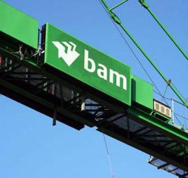 BAM ziet winst met 84% dalen