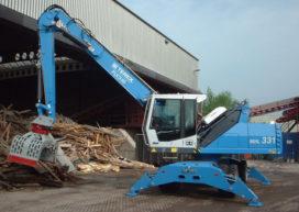 Opnieuw een Terex-Fuchs voor Bemmel Container Service
