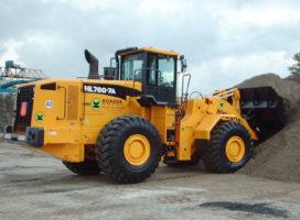 30-tons Hyundai laadschop voor Bonder