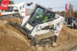 BouwMachines test de nieuwe Bobcat T450 schranklader