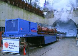 Innovatief brandblussysteem voor tunnels