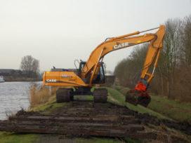 Hansan levert Case CX 240 B aan Kooiker Staphorst