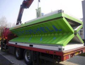 Nieuw: opvouwbare container