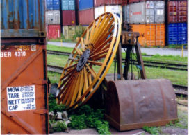 Voor 60.000 euro aan oud ijzer gestolen bij gww-bedrijf