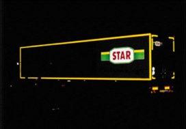 Trucks beter zichtbaar door nieuwe contourmarkering