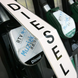 Diesel gunstiger dankzij lagere olieprijs