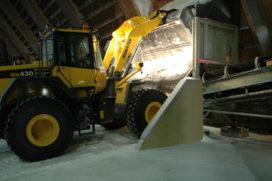 Bia levert Komatsu wielladers voor het verzetten van zout