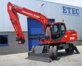 JK van den Dool investeert in Etec 816-II M mobiele graafmachine