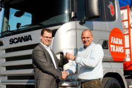 25 Scania trekkers voor Farm Trans