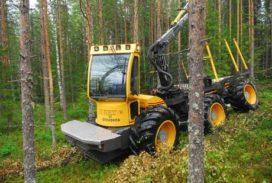 Volvo showt hybride bos-bouwmachine El-forest F 14