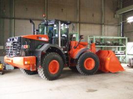 Hitachi komt met 15 ton zware wiellader
