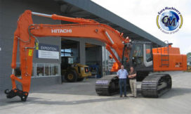 Derde Hitachi voor Euro Machinery