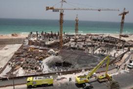 Vloer stort in: zes bouwvakkers geborgen