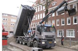Iveco Trakker voor Rutte Amsterdam