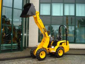 Nieuwe wiellader JCB 403 op Nederlandse markt