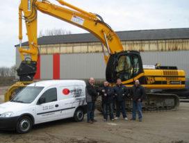 Veugelers Groep Roermond kiest voor JCB JS 330 LC