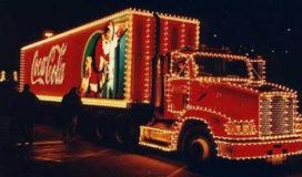 Coca Cola Kersttruck te zien in Nederland