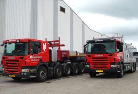 Bijzondere Scania's voor Kuipers Funderingstechnieken