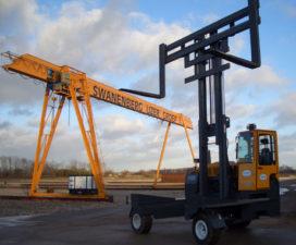 Mabo-lifting levert 4-weg zijlader van 14 ton