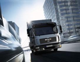 EEV-truckdiesels van MAN extreem schoon