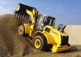 New Holland B-serie wielladers