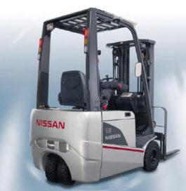 Blom Opleidingen aan de slag met Nissan TX heftrucks
