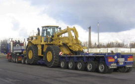 Goldhofer met XLE zwaarvervoer-compactsysteem