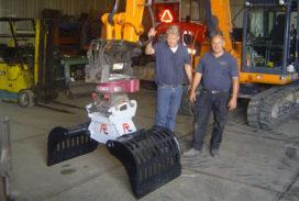 Atlas Service Vaassen levert 160e Pladdet-grijper