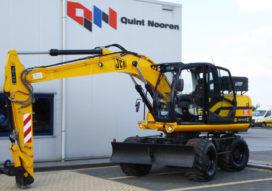 JCB JS 145 W afgeleverd bij Quint Nooren