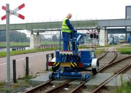 Nieuw in Nederland: spoorhoogwerker