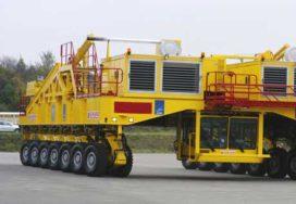 Modulaire transportwagens naar de top van de Andes