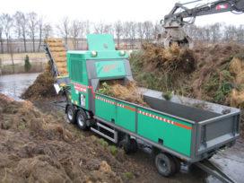 Jenz AZ 660 D XL met vaste hamers voor Over Milieu