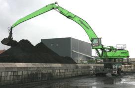 Sennebogen 850 M Special draait bergen kolen op