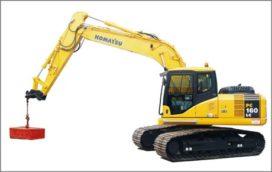 Soma neemt Komatsu PC 160 LC in ontvangst