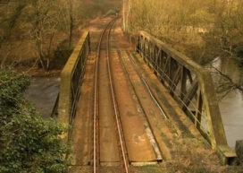 Spoorbrug gestolen in Tsjechië