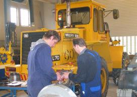 Beroepswedstrijd junior bouwmachinemonteurs