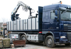 Crisis treft bouwmaterialenvervoer