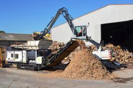 Van der Spek breidt recyclingprogramma uit met Terex Ecotec