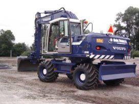 Aannemingsbedrijf Oomen kiest voor Volvo EW 180 C