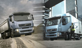 Nieuwe versnellingsbak voor de Volvo FL