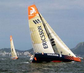 Zweden winnen opnieuw etappe Volvo Ocean Race