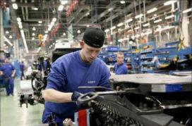 Nieuwe productielijn Volvo Europa Trucks