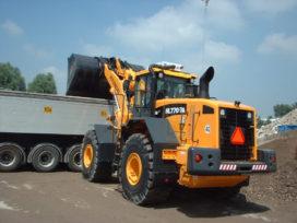 Tweede Hyundai HL 770-7A wiellader naar Volker Stevin