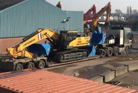 35-tons Hyundai HX330L versterkt verhuurvloot Next Rental